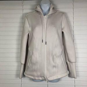 Adidas Stella McCartney white womens hoodie. Sz 44